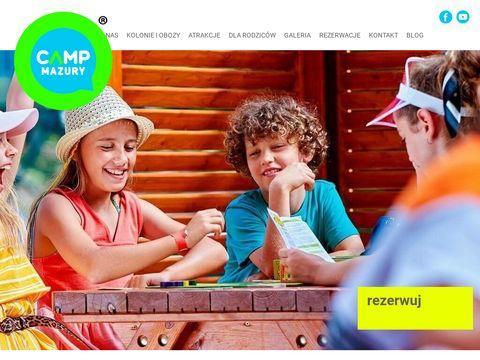Campmazury.pl obozy dla dzieci