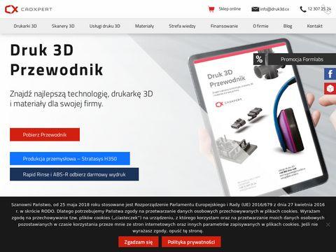 Cadxpert.pl profesjonalne drukarki 3D