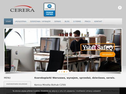 Cerera.pl - kserokopiarki kolorowe