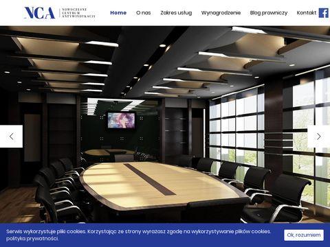 Centrum-antywindykacji.pl pomoc prawna NCA