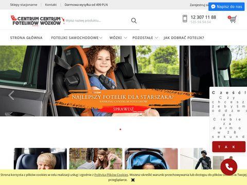 Centrumfotelikow.pl wózki spacerowe