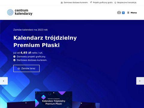Centrumkalendarzy.pl kalendarze trójdzielne