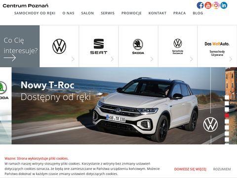 Centrumpoznan.pl salon SEAT Skoda Volkswagen