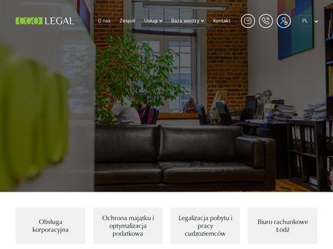 Cgolegal.pl - doradztwo podatkowe łódź