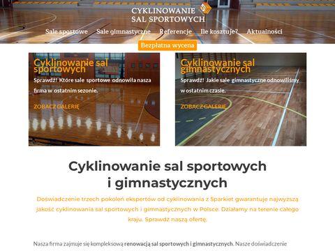 Cyklinowaniesalsportowych.pl