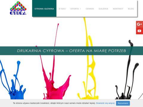 Cyfra-druk.com.pl drukarnia cyfrowa Wrocław