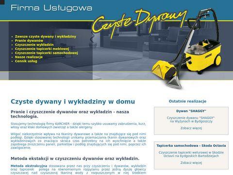 Czystedywany.eu pranie dywanów w Bydgoszczy