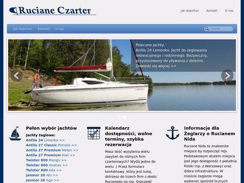 Czarter-Ruciane - żeglarska przygoda