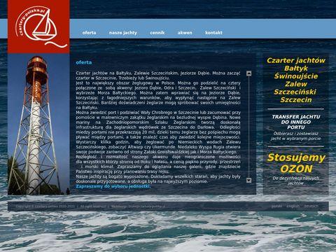 Czarter Jachtów Bałtyk, czarter Szczecin