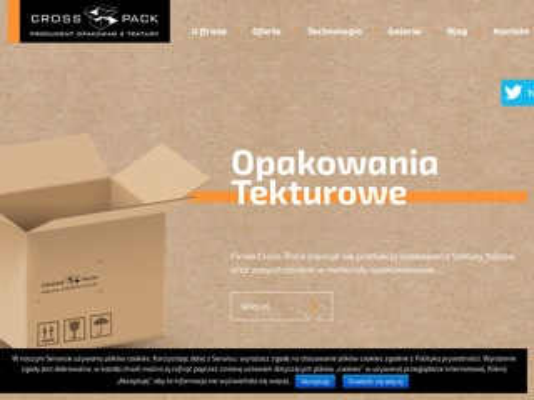 Crosspack.pl opakowania fasonowe