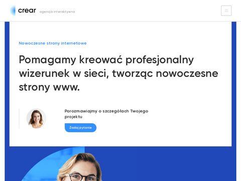 Crear.pl strony internetowe Poznań