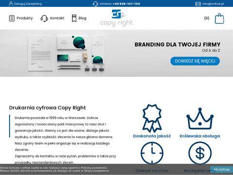 Wizytówki Warszawa Centrum