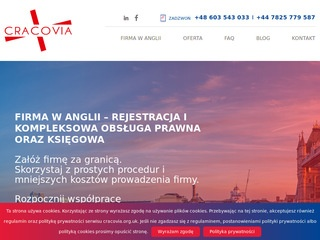 Cracovia LTD firma w UK