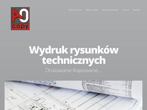 A0copy.pl skanowanie wielkoformatowe