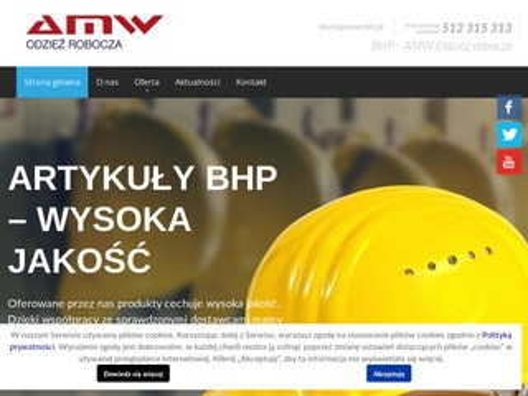 Amw.biz.pl odzież robocza Łódź