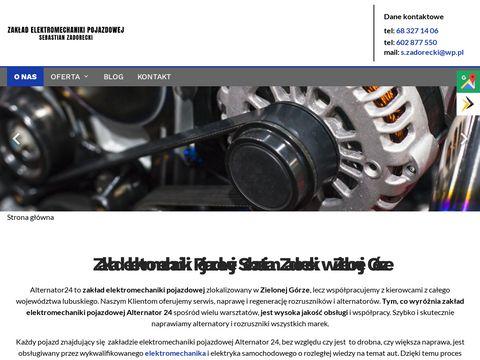 Alternator24.pl Sebastian Zadorecki rozruszniki