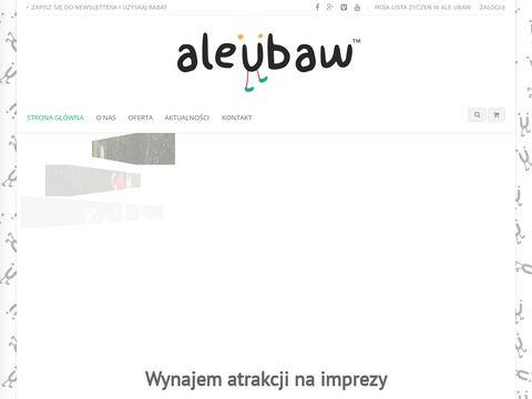 Aleubaw.eu - dmuchane zjeżdżalnie wynajem