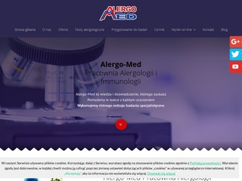 Alergo-Med cytologia oczu Kraków