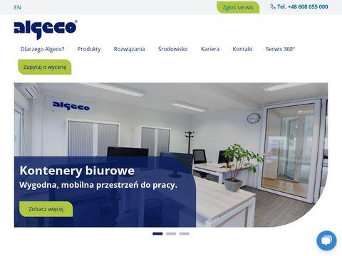 Algeco.pl kontenery magazynowe