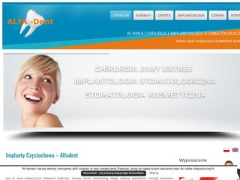 Alfadent - dentysta Częstochowa