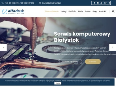 Alfadruk24.pl pogotowie komputerowe