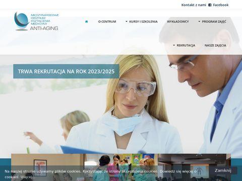 Antiaging.edu.pl medycyna estetyczna studia
