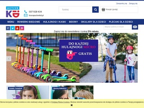 Activekid.pl artykuły dla aktywnych dzieci