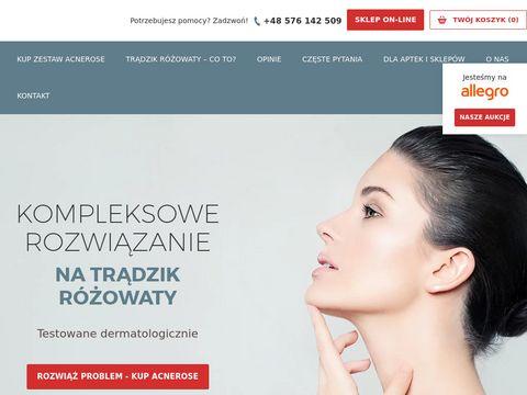 Acnerose.pl na trądzik różowaty nosa