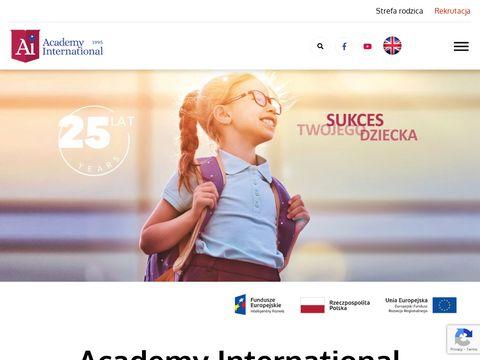 Academyinternational.pl prywatne przedszkole