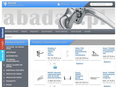 Abadax.pl - okucia do drzwi