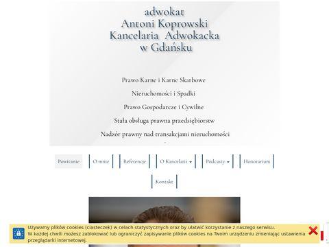 Adwokat-koprowski.pl