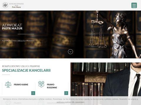 Adwokat-mazur.pl odszkodowania Lublin