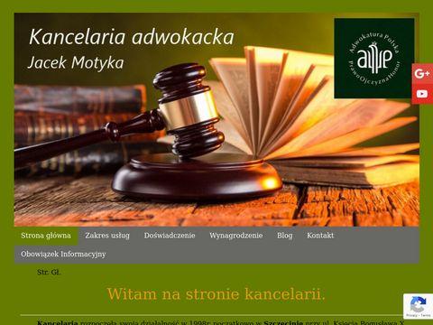 Adwokatmotyka.szczecin.pl kancelaria
