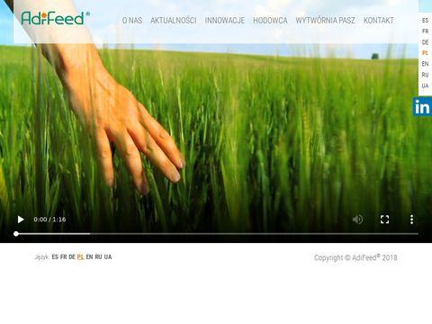 Adifeed.pl dodatki paszowe