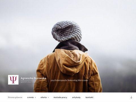 A.Borowska psychoterapia Warszawa