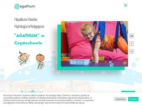 Agathum.pl terapia integracji