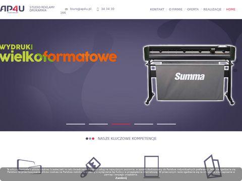 Agencja reklamowa PRO4U - woj. śląskie - ap4u.pl