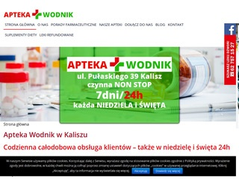 Aptekawodnik.pl całodobowa