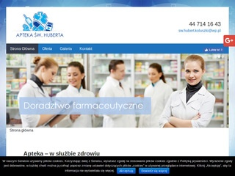 Aptekaswhuberta.pl kosmetyki Koluszki