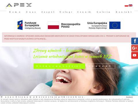 Apex wybielanie zębów Wrocław