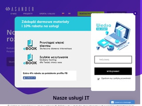 Asander.pl tworzenie stron www