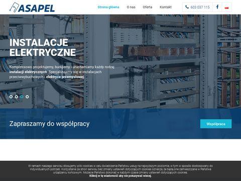 Asapel.pl - elektryka przemysłowa