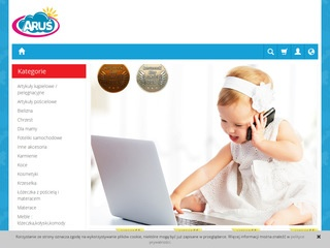 Arus.pl różki dla niemowląt