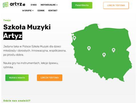 Artyz.pl szkoła muzyczna Szczecin
