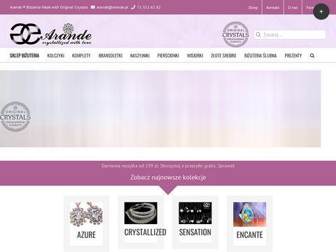 Arande.pl Swarovski biżuteria