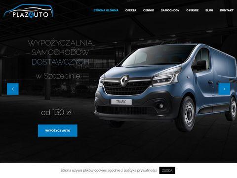 Plaza sprzedaż samochodów dostawczych