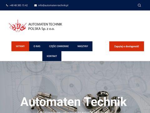 Automaten-technik.pl automaty tokarskie