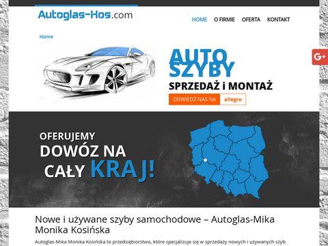 Autoglas-kos.com nowe szyby samochodowe