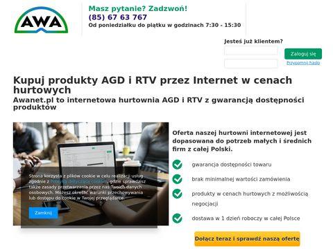 Awanet.pl Hurtownia internetowa AGD RTV