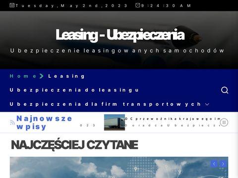 Avis Lease - leasing samochodu